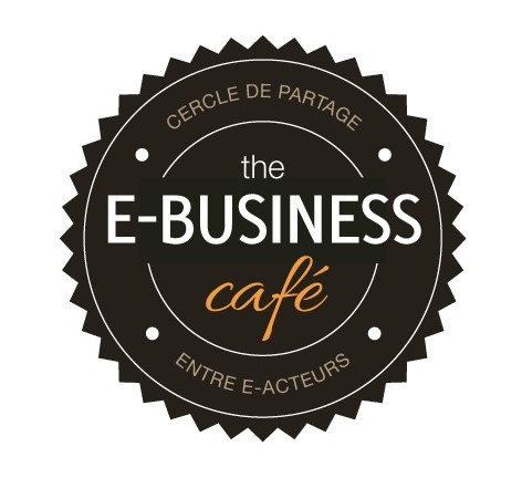 logo e-business café